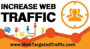 increase vebsite traffic to my website