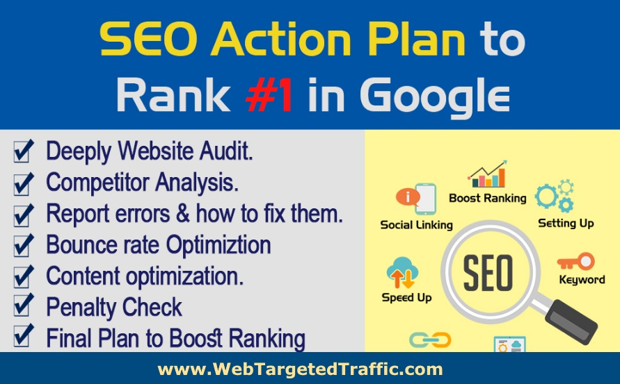 best seo action plan
