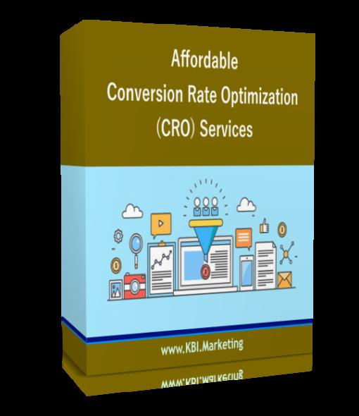 Conversion Rate Optimization services CRO