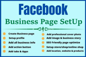 cheap create FaceBook Page