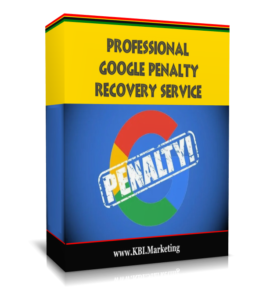 Google Penalty Recovery